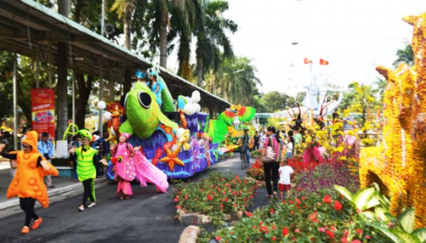 Nhiều hoạt động vui đón xuân tại Đầm Sen