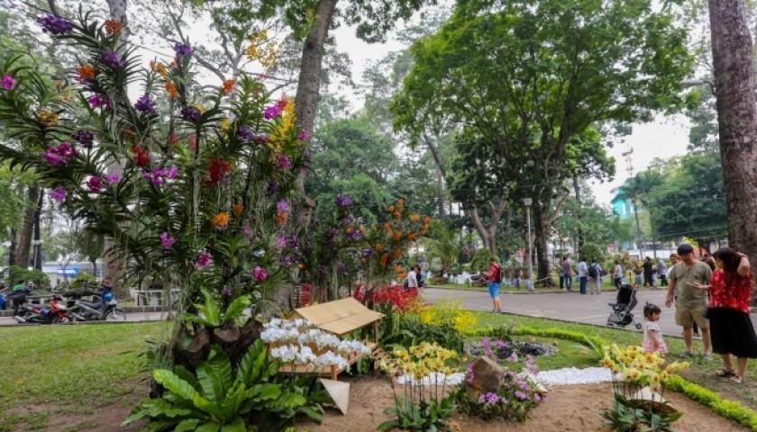 Chợ hoa Tết Sài Gòn thưa thớt, miền Tây đông đúc