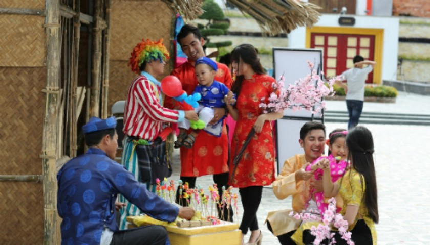 Vui Tết cổ truyền tại Asia Park Đà Nẵng