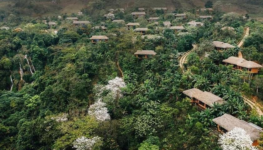 TIỂU BALI VIỆT NAM TẠI HOÀ BÌNH: Resort Avana Retreat Mai Châu Hòa Bình