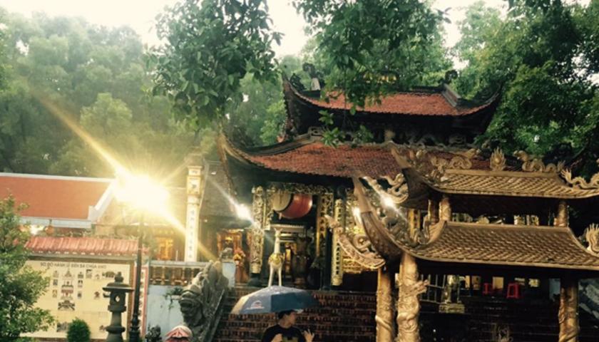 Giá thuê xe đi Đền Bà Chúa Kho (Bắc Ninh)