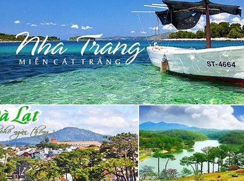 Tour Nha Trang- Đà Lạt, 4N3Đ, đường bay