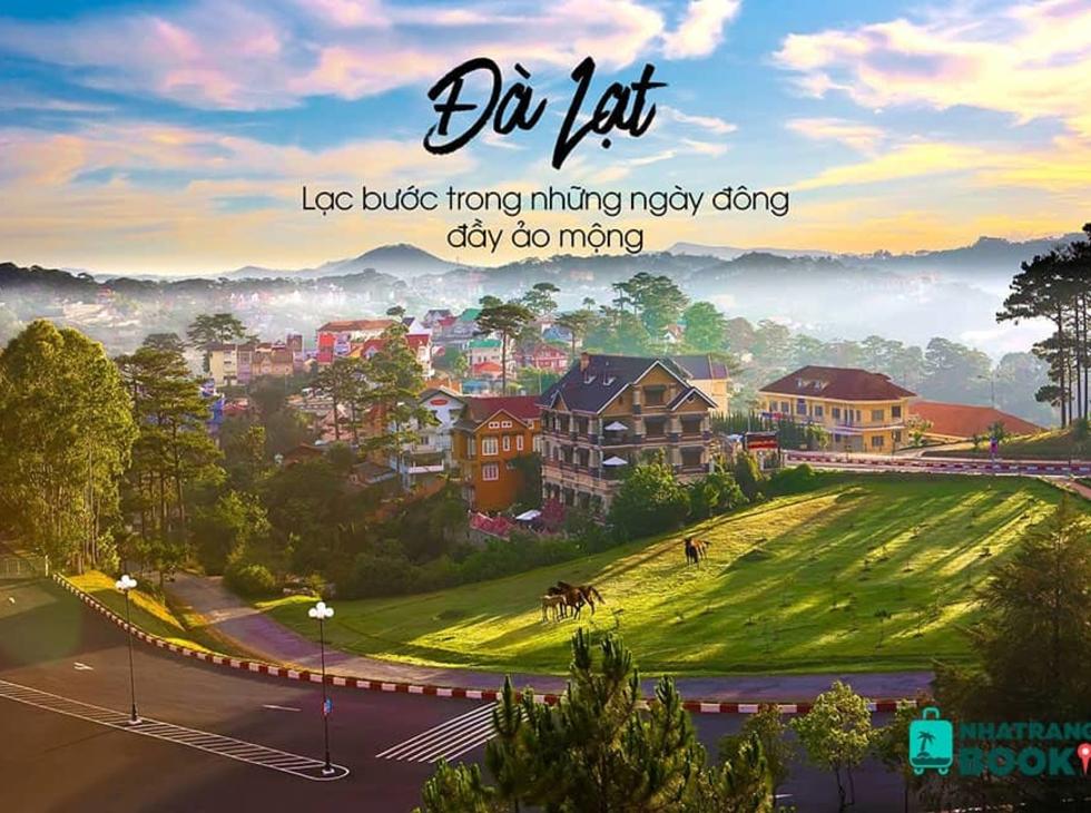 Tour Nha Trang- Phú Yên- Đà Lạt, 5N4Đ, Đường bay