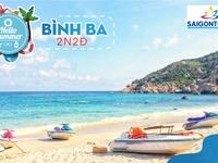 Tour Nha Trang- Đảo Bình Ba, 3N2Đ, Đường bay