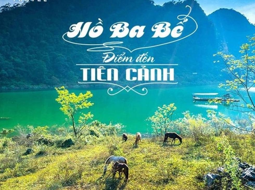Hồ Ba Bể - Động Hua Mạ - Thác Tát Mạ 2 ngày 1 đêm