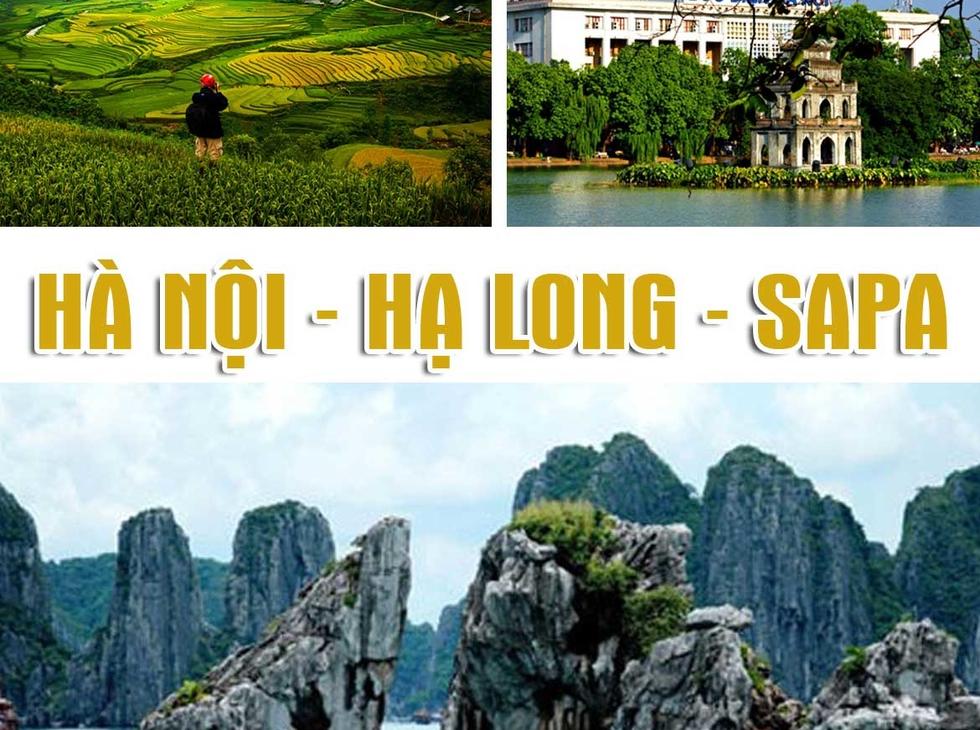 Tour City Hà Nội - Hạ Long - Sapa, 5n4d, 1 đêm ngủ tàu 5 sao