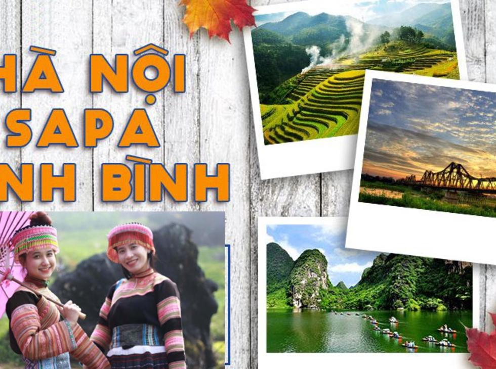 Tour City Hà Nội - Sapa - Ninh bình, 4n3d