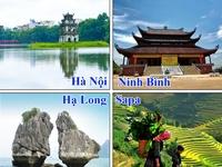 Tour City Hà Nội - Hạ Long - Sapa - Ninh Bình 6n5d, 1 đêm ngủ tàu 5 sao