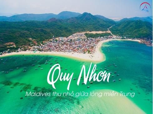 Tour Quy Nhơn - Tây Sơn - Phú Yên - Kỳ Co - Hòn Khô - Eo Gió - City Tour, 4n3d, đường bay