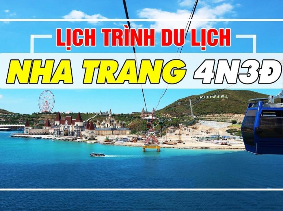 Tour Nha Trang- Du Ngoạn Đảo 4n3d, đường bay từ Hà Nội