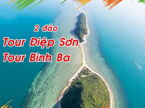 Tour Nha Trang- Bình Ba/ Điệp Sơn, 3n2d, đường bay từ Hà Nội