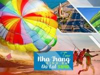 Tour Nha Trang- Bình Ba/Điệp Sơn- Đà Lạt 5n4d, đường bay từ Hà Nội