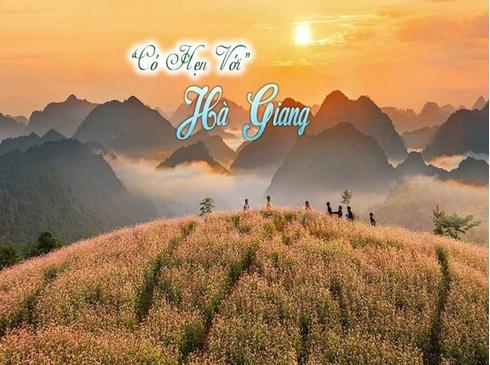 Tour Hà Giang - Cao Nguyên Đá Đồng Văn - Hoa Tam Giác Mạch, 4n3d